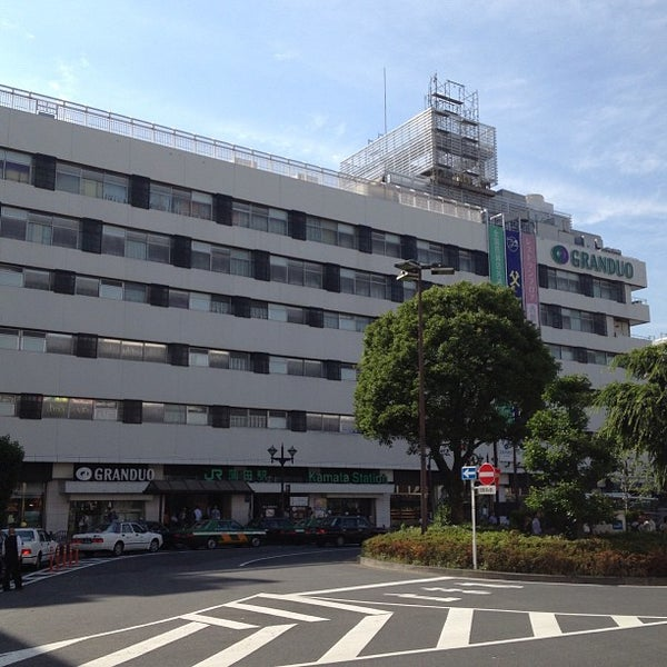 Photo taken at GRANDUO Kamata by Leon Tsunehiro Yu-Tsu T. on 6/3/2013