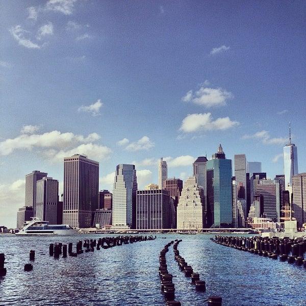 Photo taken at Brooklyn Bridge Park by Oleg G. on 10/13/2013
