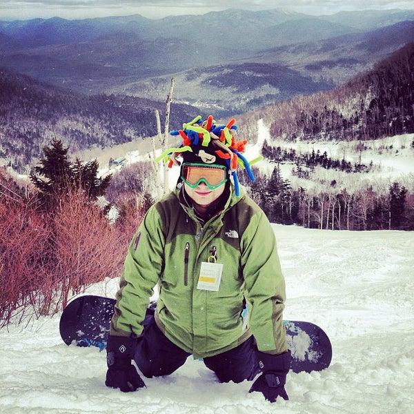 Photo taken at Whiteface Mountain by Oleg G. on 3/29/2013