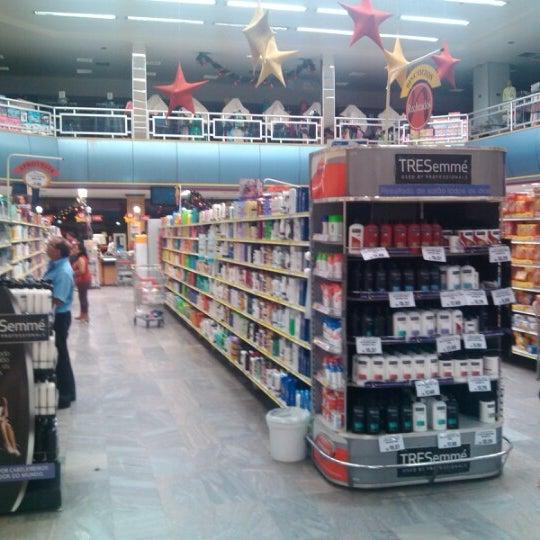 Photo taken at Supermercados Nazaré by Douglas A. on 11/4/2012