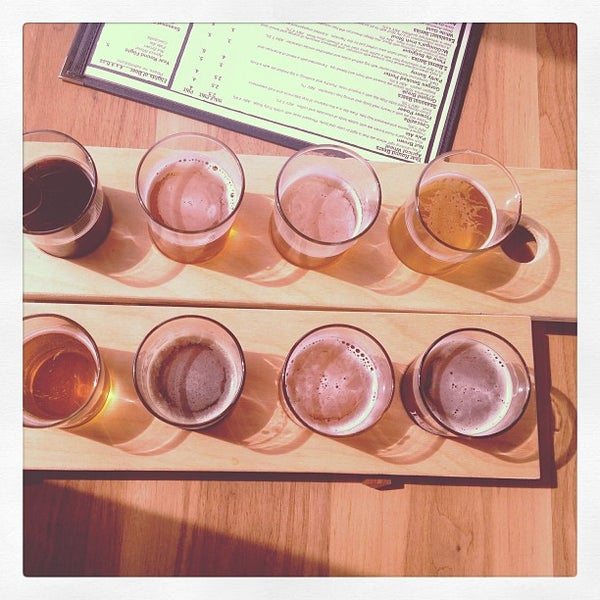 Photo taken at Ithaca Beer Co. Taproom by shots of joy s. on 5/18/2013