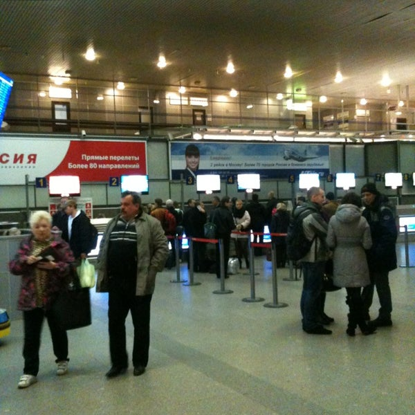 Photo taken at Check-in desk by Nikolay on 4/8/2013