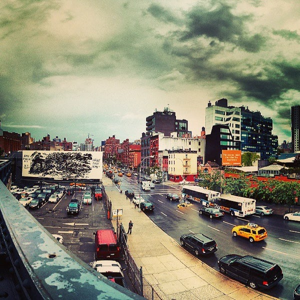 Photo taken at High Line 10th Ave Amphitheatre by AV G. on 6/13/2013