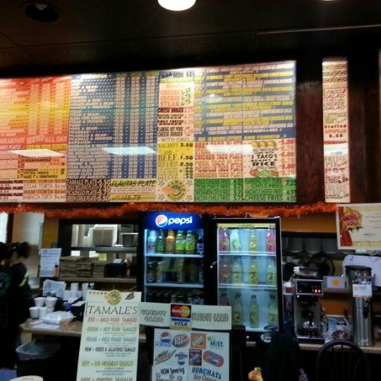 Tamale Kitchen Northglenn Menu