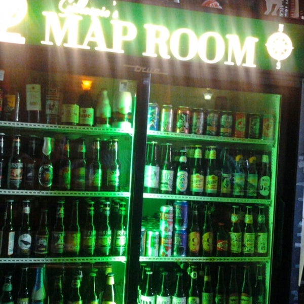 Gillespie S Map Room Downtown Cleveland 1281 W 9th St