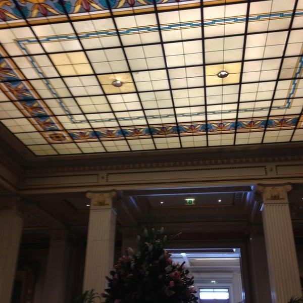 Photo taken at Hotel Grande Bretagne by Spiros A. on 2/14/2013