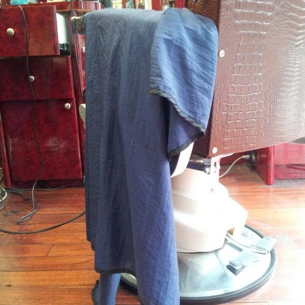 Photo taken at Manhattan Barber Shop by Ric K. on 11/9/2013
