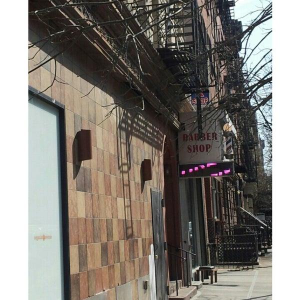 Photo taken at Manhattan Barber Shop by Ric K. on 3/8/2014