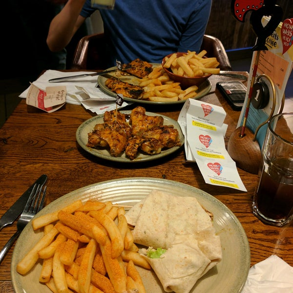 Photo taken at Nando's by Michael C. on 2/20/2017