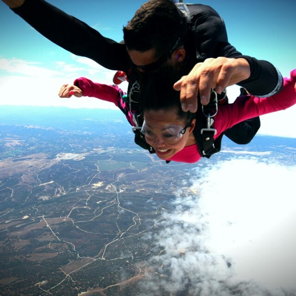 Photo taken at Skydive Monterey Bay by Serene Y. on 8/16/2013
