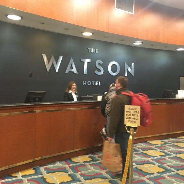 Foto diambil di The Watson Hotel oleh David R. pada 2/27/2018