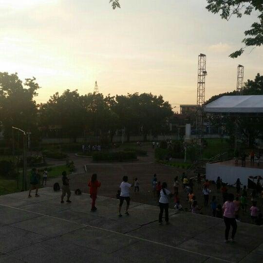 Photo taken at Maria Cristina Park by Arnie Joy G. on 7/29/2015