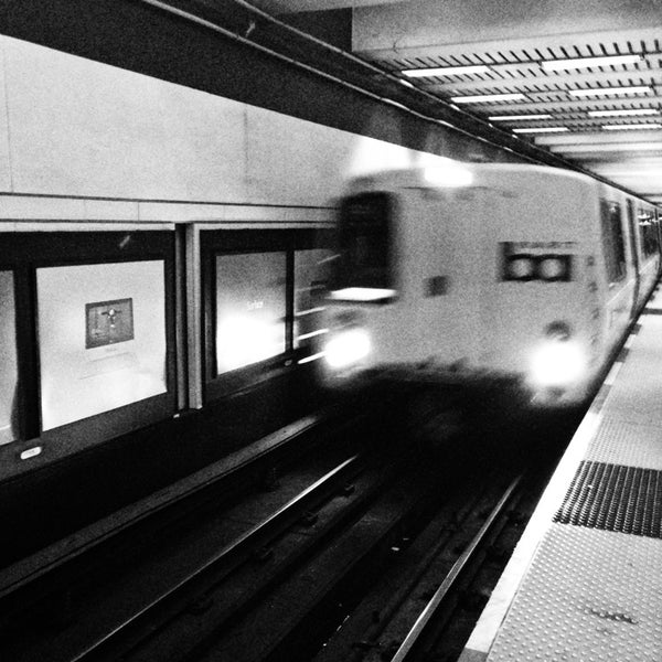 Photo taken at Civic Center/UN Plaza BART Station by Corey P. on 1/10/2013