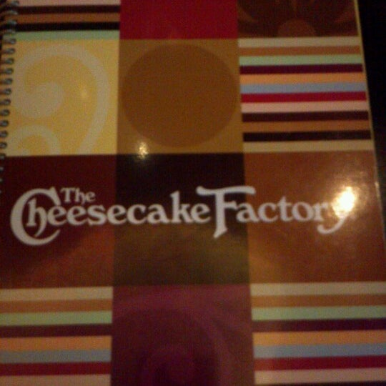 Photo taken at The Cheesecake Factory by Angel G. on 9/28/2012