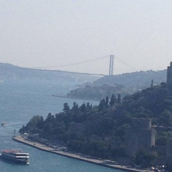 Photo taken at Fatih Sultan Mehmet Bridge by Didar on 7/13/2013