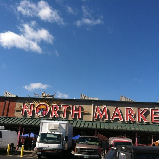 Photo taken at North Market by rebecca b. on 10/6/2012