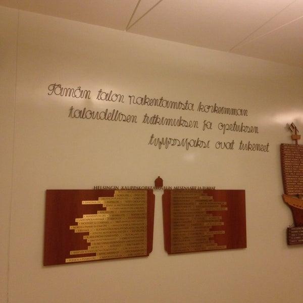 Photo taken at Kauppakorkeakoulu by Hannu K. on 11/4/2014