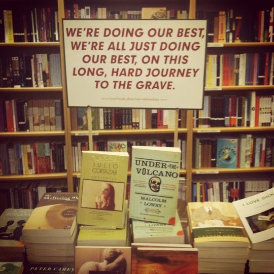 Photo taken at McNally Jackson Books by Nora R. on 1/7/2013