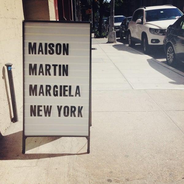 maison margiela west village new york ny. Black Bedroom Furniture Sets. Home Design Ideas