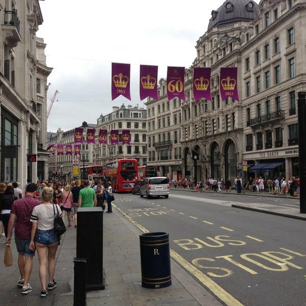 Photo taken at Oxford Street by Roman Z. on 7/20/2013