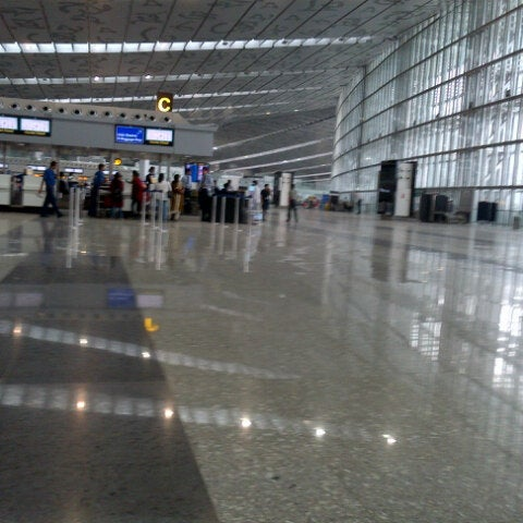 Photo taken at Netaji Subhash Chandra Bose International Airport (CCU) by Twinkle C. on 7/1/2013