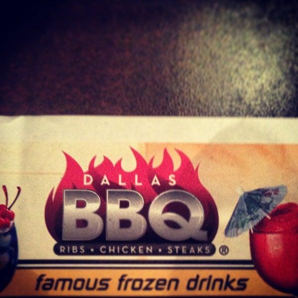 Photo taken at Dallas BBQ by Mathew on 1/31/2013