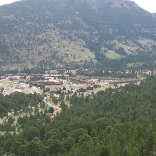 Photo taken at YMCA of the Rockies by Matthew B. on 8/8/2013