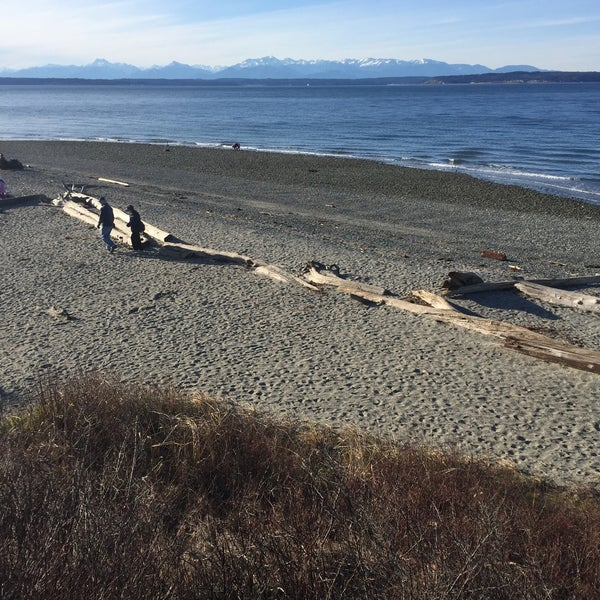 Photo taken at Carkeek Park by Kelly on 2/1/2017