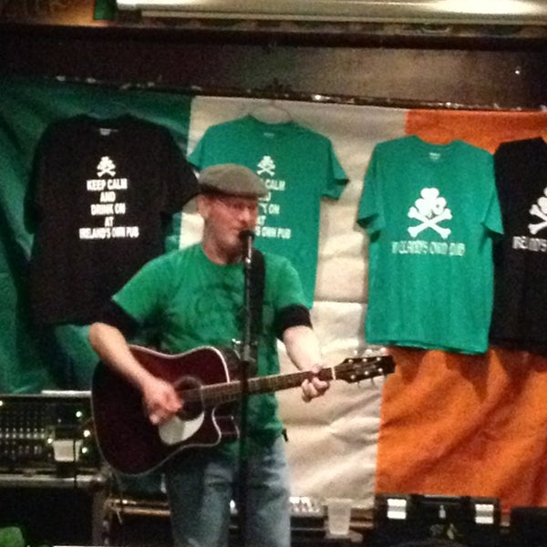 Photo taken at Ireland's Own Pub by Michael F. on 3/18/2013