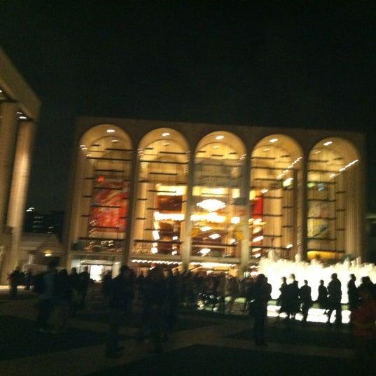 Photo taken at New York City Ballet by Vanessa V. on 10/18/2012