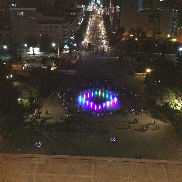 Das Foto wurde bei Mirador Monumento a la Revolución Mexicana von Ale G. am 5/5/2013 aufgenommen