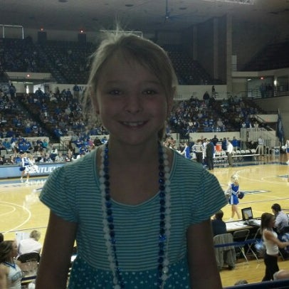 Photo taken at Memorial Coliseum by Tracey E. on 11/17/2012