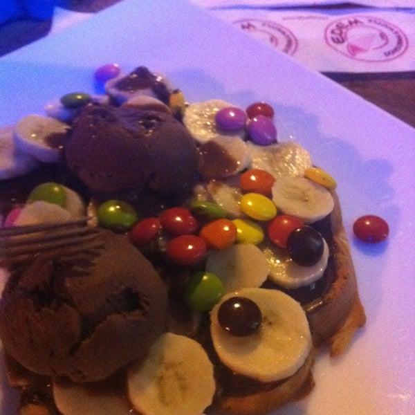 Foto tirada no(a) Waffle Edem por Deniz GÖK em 5/25/2013