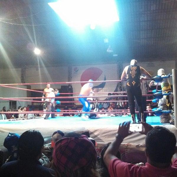 Photo taken at Arena Adolfo Lopez Mateos by Kainsteiger M. on 10/20/2013