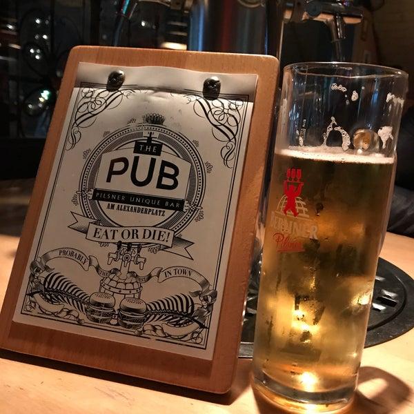 Das Foto wurde bei The Pub Berlin von Matthias am 4/11/2018 aufgenommen