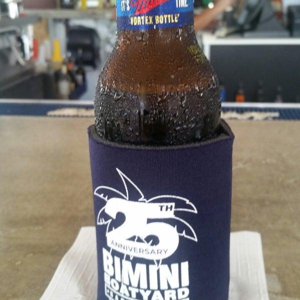 Photo taken at Bimini Boatyard Bar & Grill by vanessa on 9/21/2014