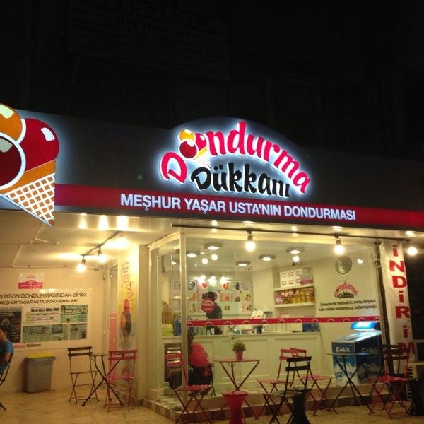 9/14/2013 tarihinde yusuf g.e✔️ziyaretçi tarafından Dondurma Dükkanı'de çekilen fotoğraf