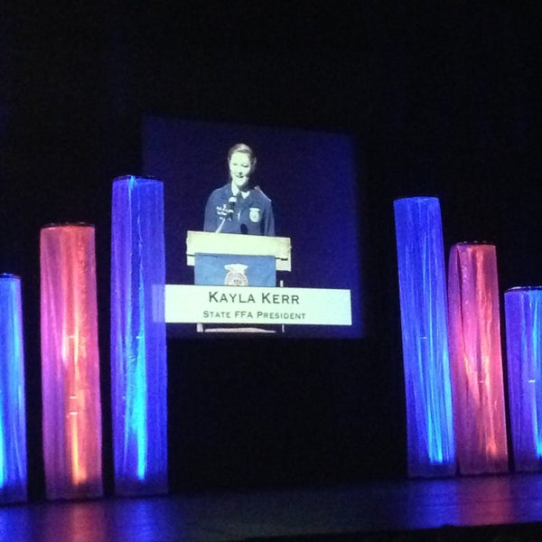 Photo taken at Centennial Hall by Kim on 6/8/2013