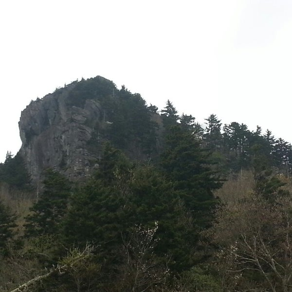 Photo taken at Grandfather Mountain by Matt R. on 5/10/2014