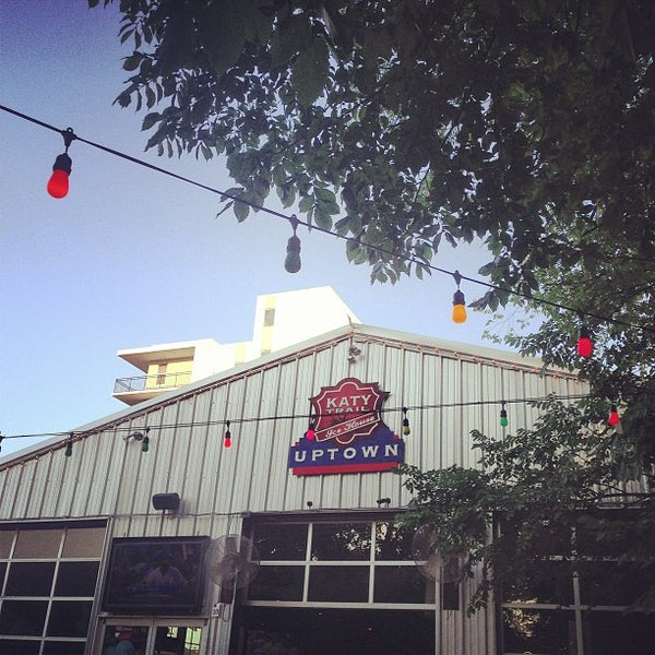 Photo taken at Katy Trail Ice House by Travis W. on 6/5/2013
