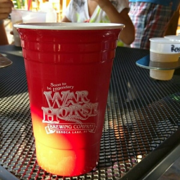 Photo taken at War Horse Brewery by Nikita S. on 9/4/2015