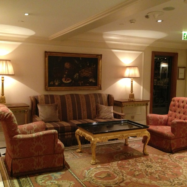 Photo taken at Hotel Grande Bretagne by Tommy P. on 2/18/2013