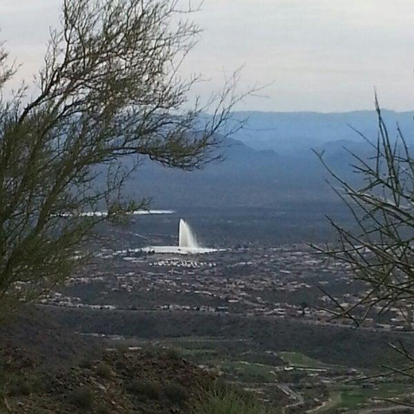 Photo taken at Sunrise Peak by Kris B. on 3/6/2014