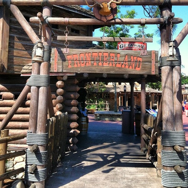 Photo taken at Frontierland by Reedy Creek Radio.Com T. on 6/20/2013