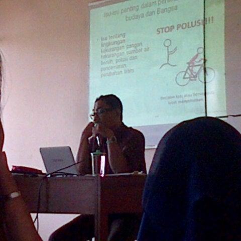 Photo taken at Institut Ilmu Sosial dan Ilmu Politik (IISIP) by Annisa D. on 12/20/2012