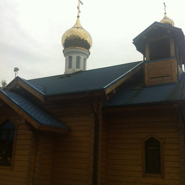 Photo taken at Храм святого Николая Чудотворца by Annet on 9/25/2014