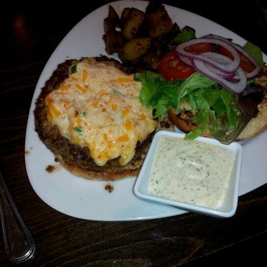 Photo taken at MOSAIC Restaurant Charleston by Mariana H. on 9/28/2012