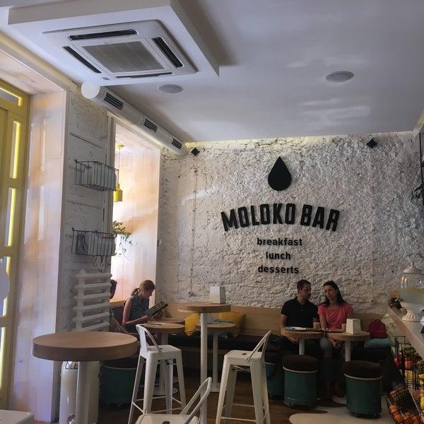 Снимок сделан в MOLOKO Bar пользователем Nastya D. 6/5/2017