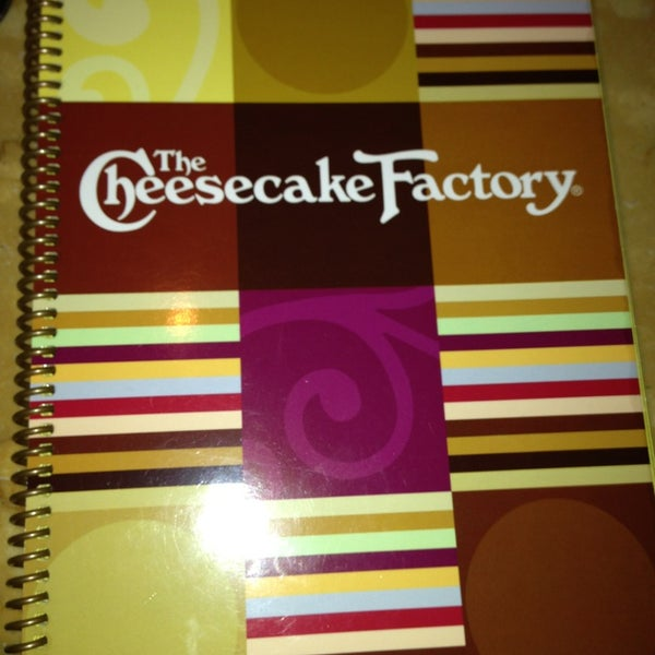 Photo taken at The Cheesecake Factory by Selina A. on 1/6/2013