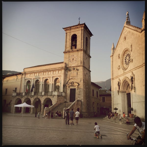 Photo taken at Norcia by Alexander T. on 8/6/2015